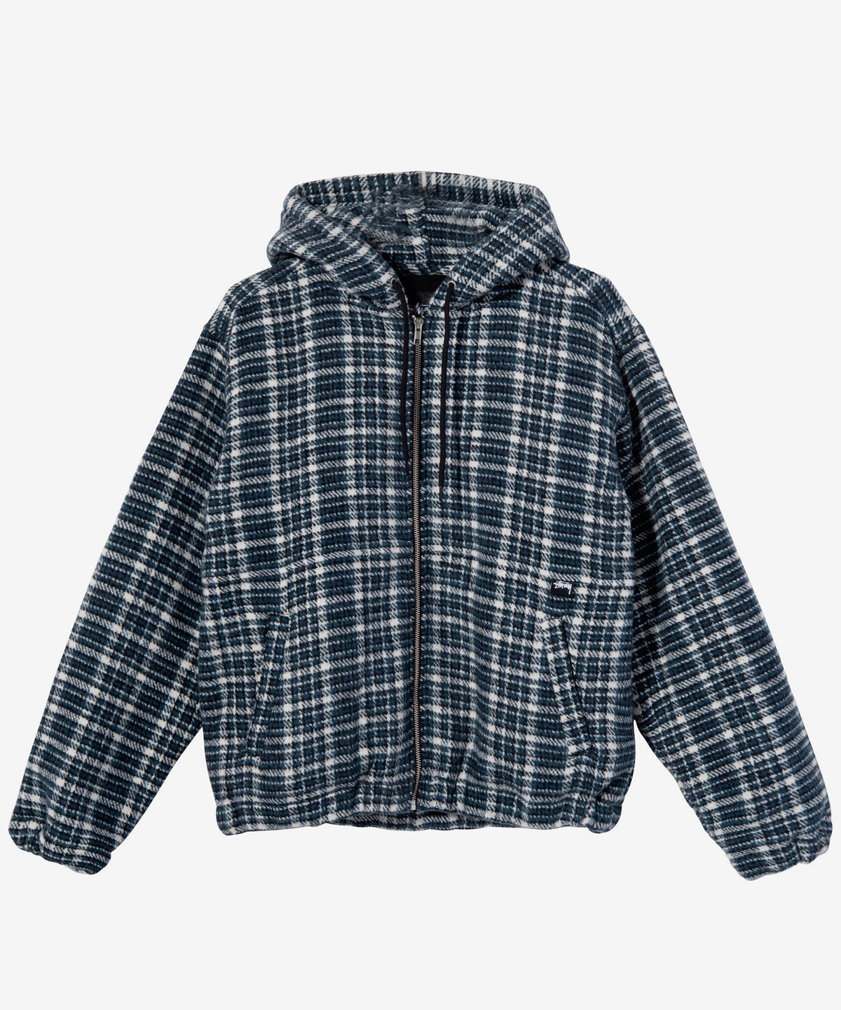 Image of STUSSY_FLANNEL WORK JACKET