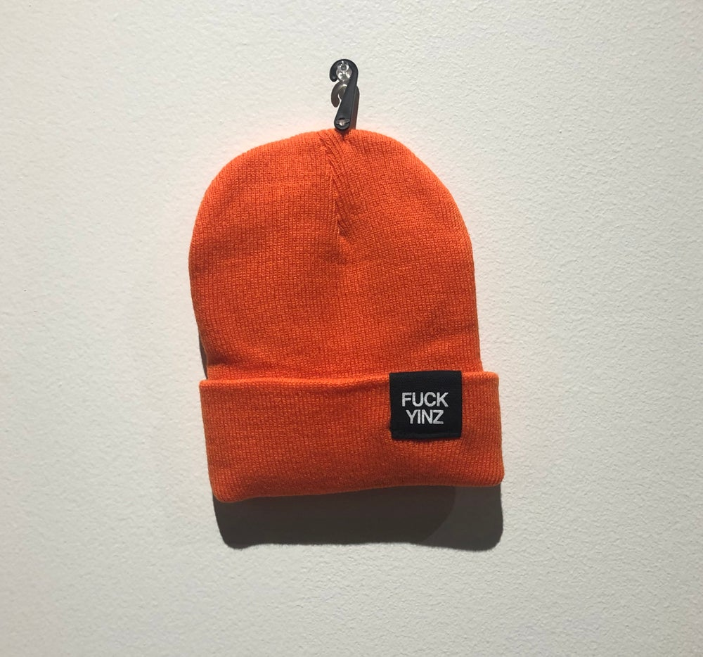 Image of ORANGE BEANIE