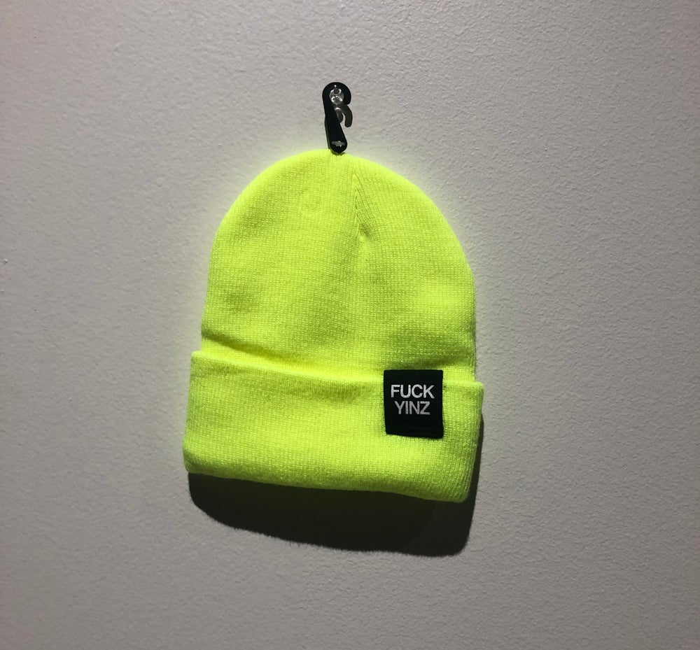 Image of SAFETY GREEN BEANIE