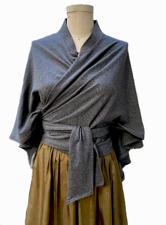 Image of Wrap in gray