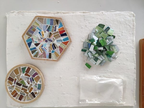 Image of DIY Mosaic Coaster Kit
