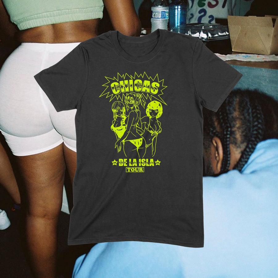 Image of Chicas De La Isla Vol.2 T-Shirt (BLK)