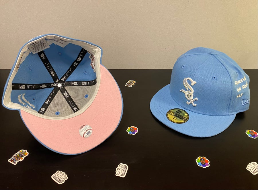 Image of PINK BOTTOM + BABY BLUE 2003 ALL STAR WHITE SOX THE SAVIOR