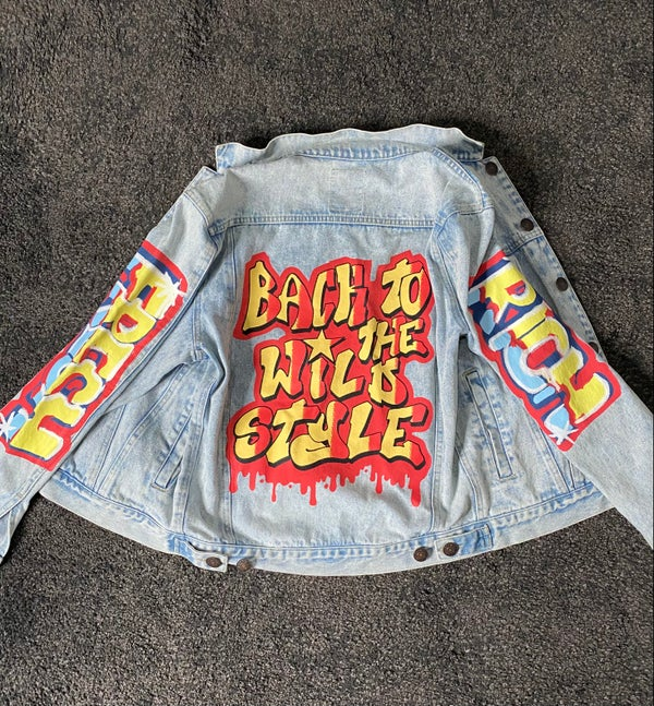 Image of Back To The Wild Style // Rich / Fresh (Jean Jacket)