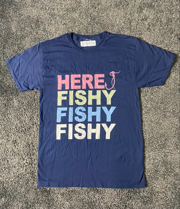 Image of HERE FISHY FISHY (shirt)