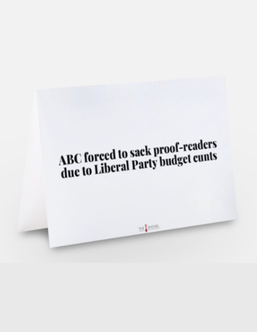 Image of ABC Proof-reader Card