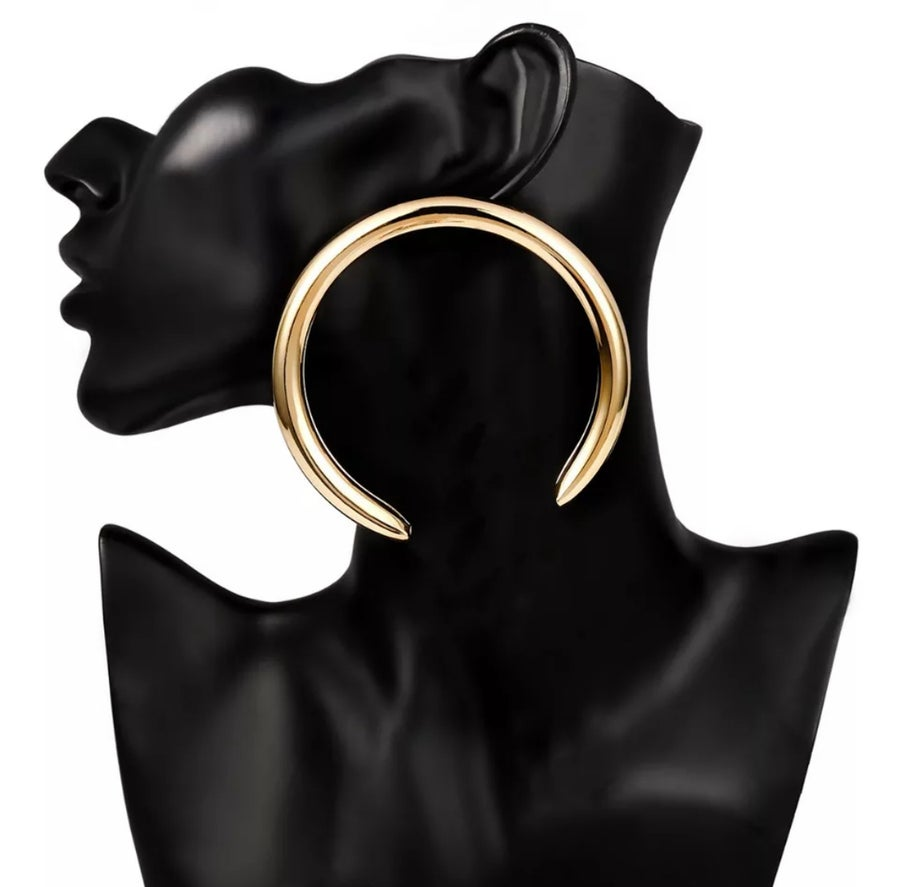 Image of Unique Gold Hoops