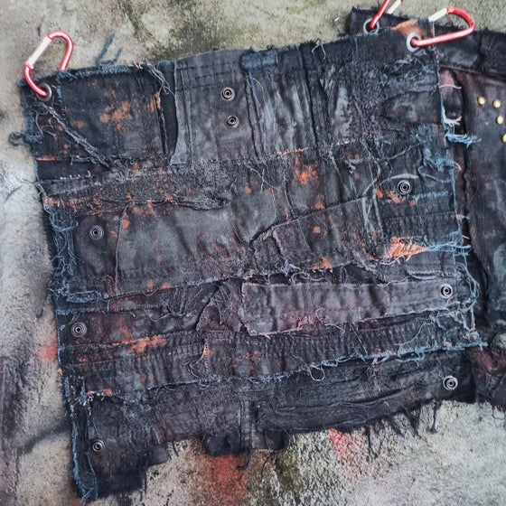 Image of Wax belt flair