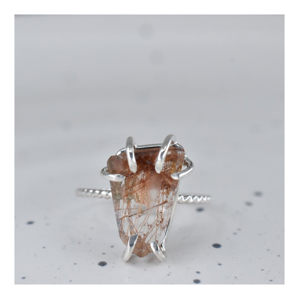 Image of Rutile Quartz Ring