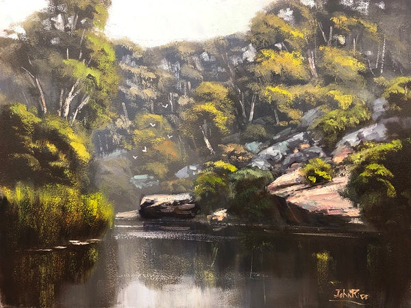 """Image of """"A Quiet Spot On The River"""""""