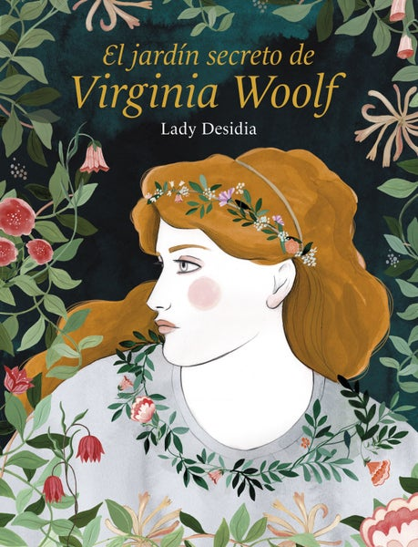 "Image of Libro ""El jardín secreto de Virginia Woolf"" LADY DESIDIA"