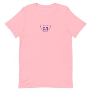 Image of Embroidered baby sad bear T-shirt
