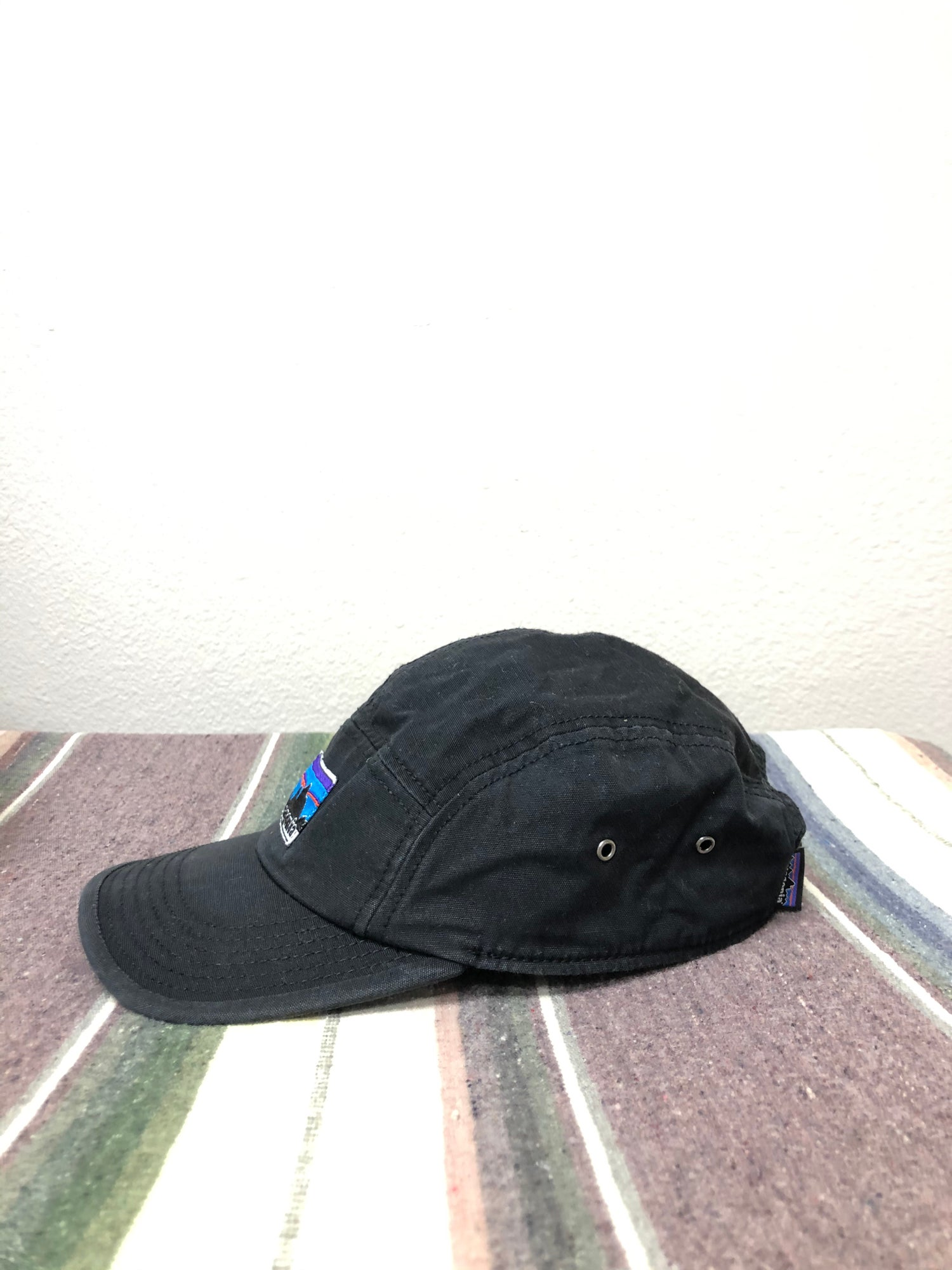Image of Patagonia 5 Panel Old Label Hat