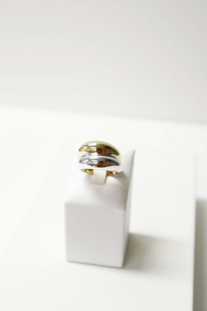 Image of DOUBLE CHUNKY  | RING COLLECTION