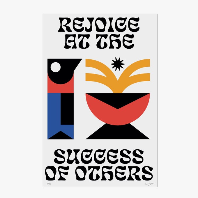 "Image of ""Rejoice at the success of others"" by Marco Oggian"