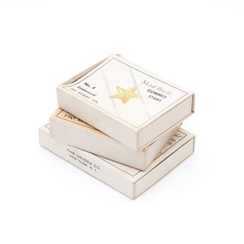 Image of Gold & Silver Foil Stars - Set of 3