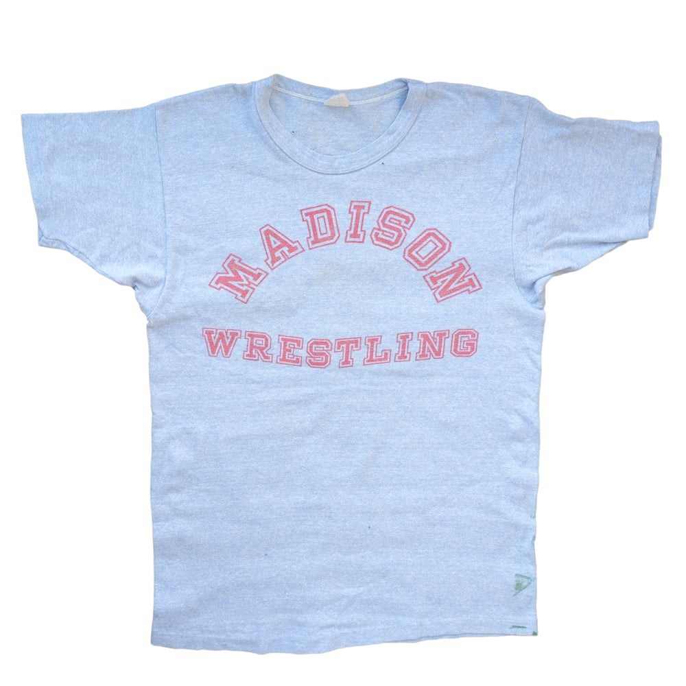 Image of Vintage 1960's Champion Madison Wrestling Tee