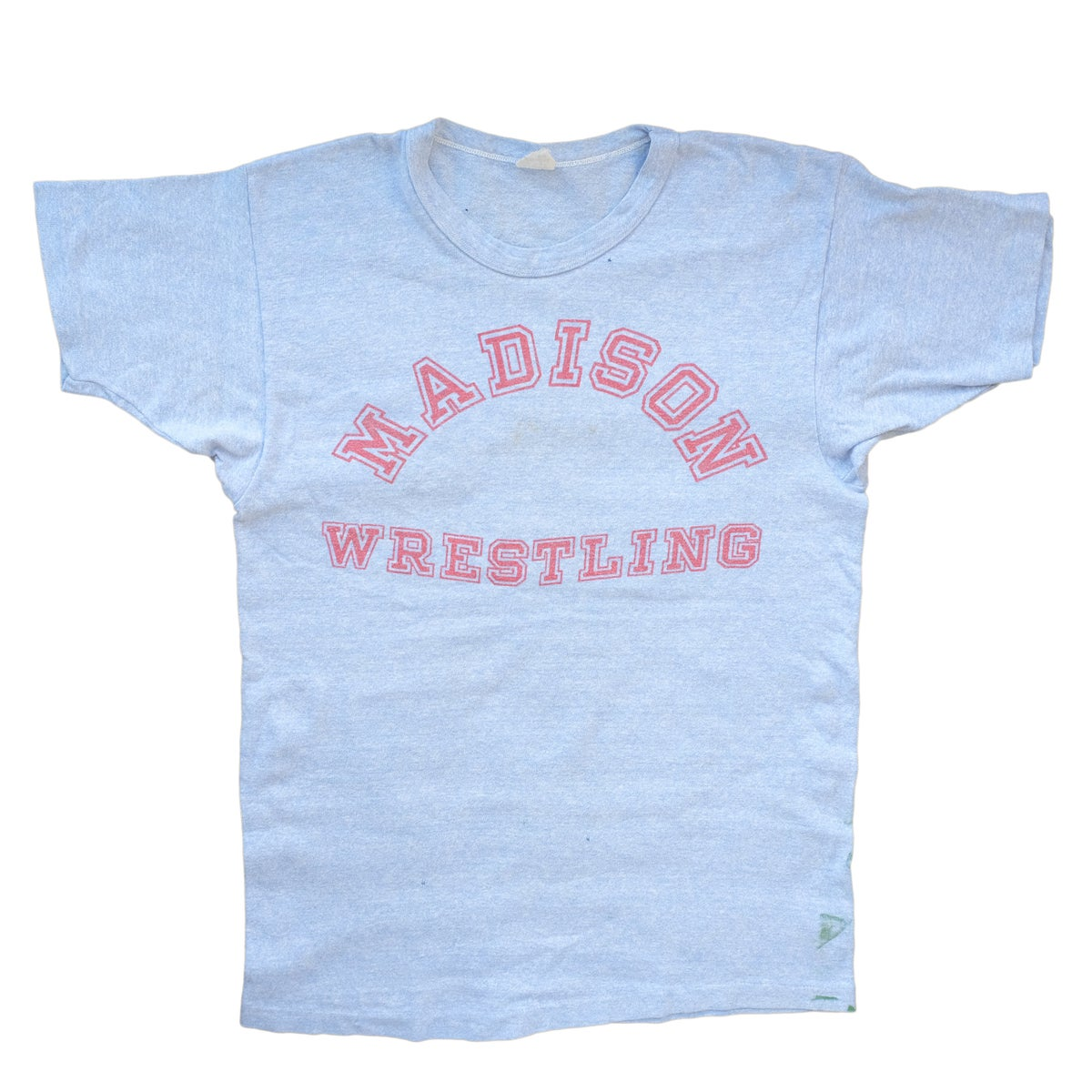 Image of Vintage 1960's Champion Madison Wrestling Tee