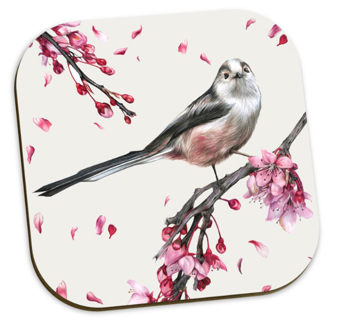 Image of Long Tailed Tit - Coaster