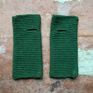 Wrist Worms, Wool, Forest