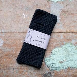 Wrist Worms, Merino, Black