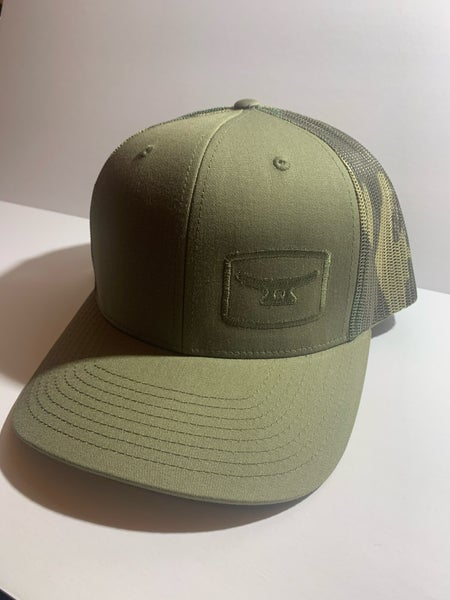 Image of Light Moss/ Camo mesh w/ ghosted logo