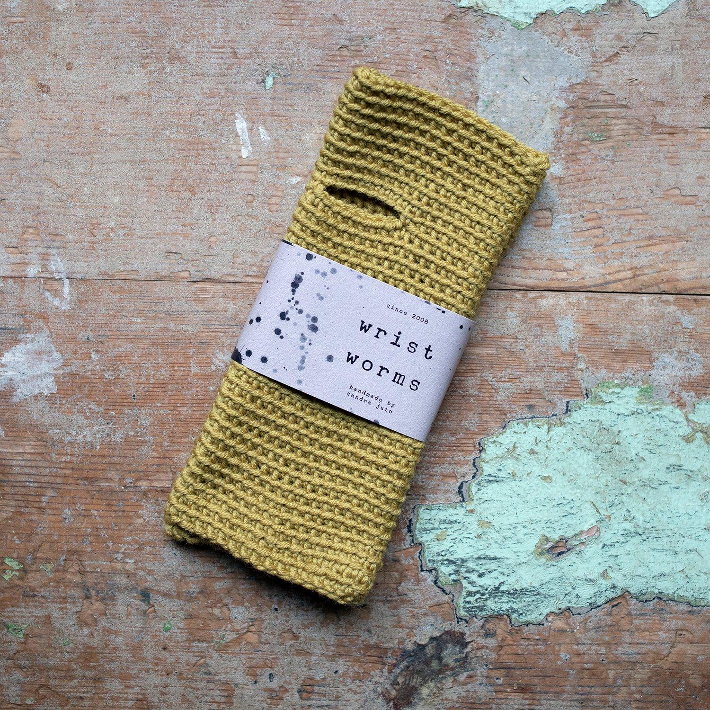 Wrist Worms, Merino, Dijon