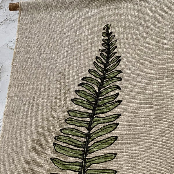 Image of Fern wall hanging (shadow)