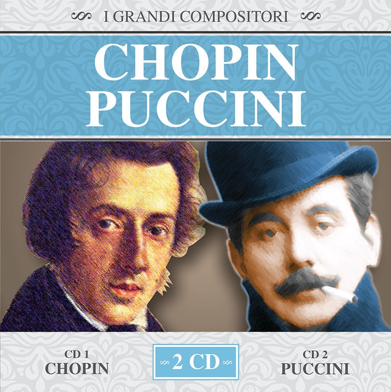 MMB1045-2 // I GRANDI COMPOSITORI - CHOPIN / PUCCINI (2CD COMPILATION)