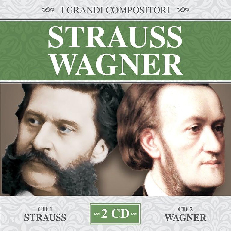 MMB1048-2 // I GRANDI COMPOSITORI - STRAUSS / WAGNER (2CD COMPILATION)