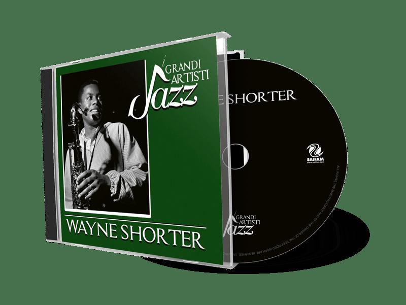 MMB1060-2 // I GRANDI ARTISTI JAZZ - WAYNE SHORTER (CD COMPILATION)