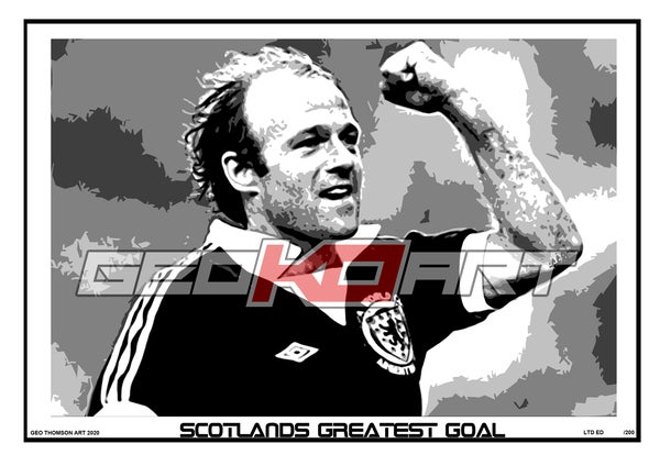 Image of ARCHIE GEMMILL SCOTLAND V HOLLAND 78