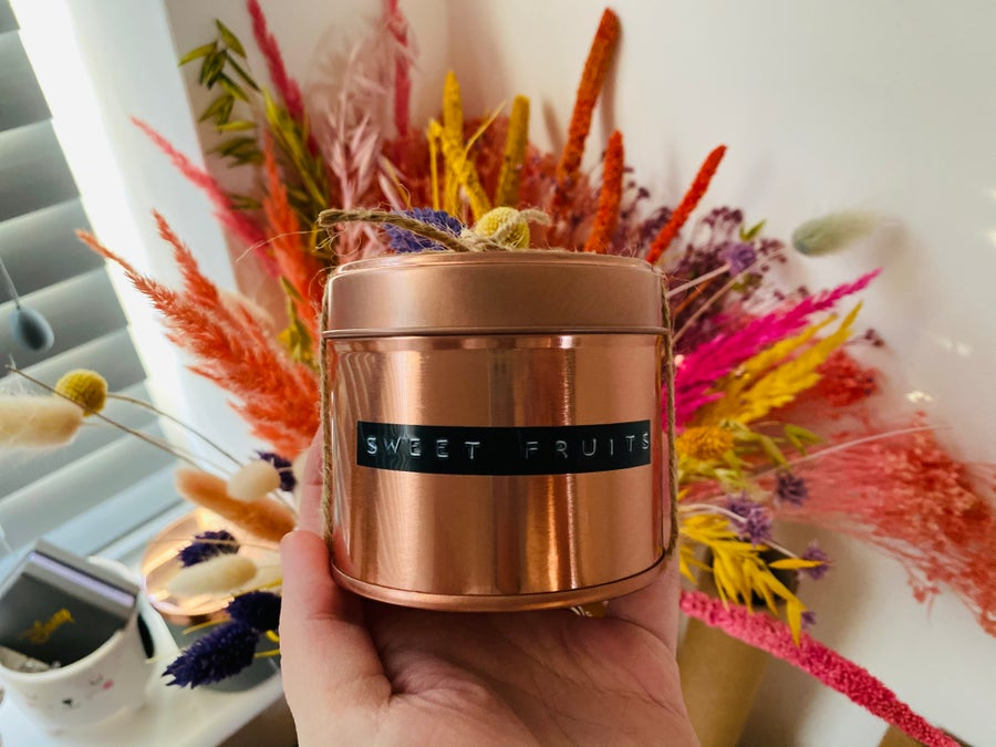 Image of Rustic Collection 20cl Copper Tin Candle