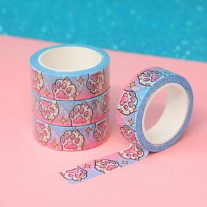 Image of Magic Cat Paw Washi Tape - Toe Beans - 15mm by 10m - Japanese masking tape