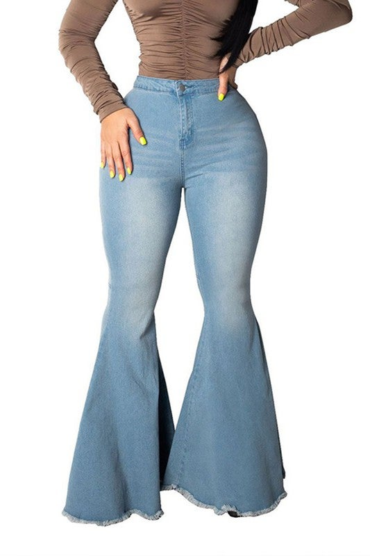 Image of Flared Jeans