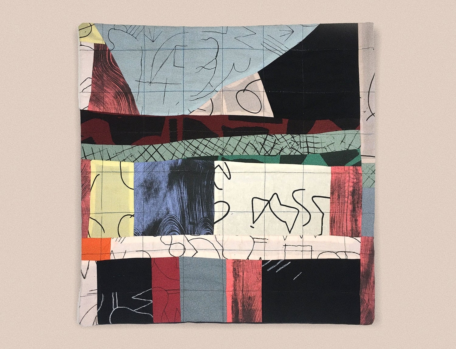 Image of PATCHWORK PILLOWCASE 1