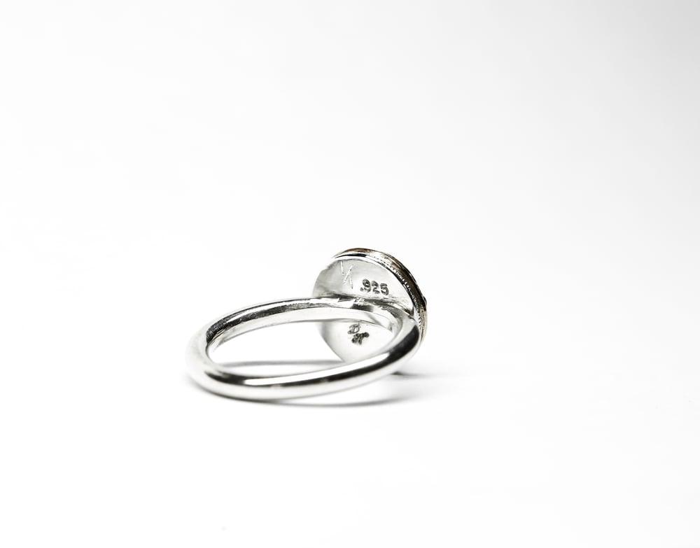 Image of Peridot Bronze Ring
