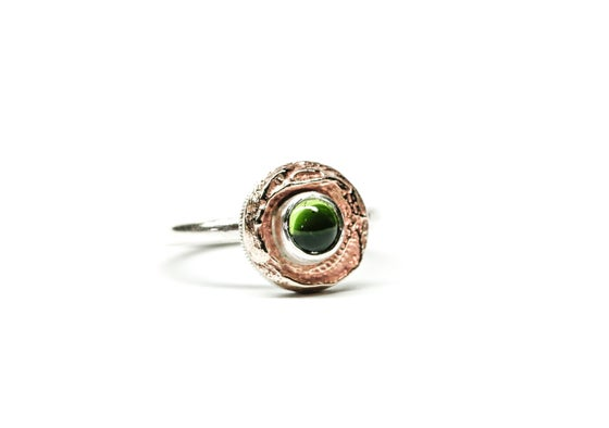 Image of Peridot Bronze Ring