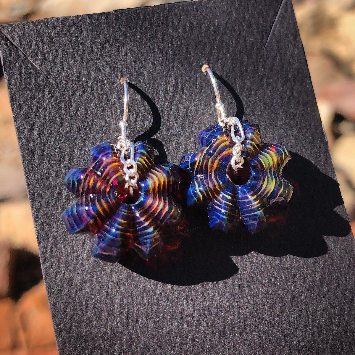 Image of Carver Gem Earrings