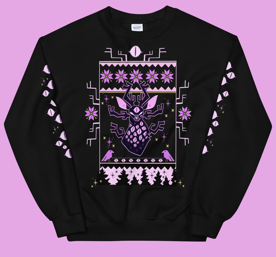 Image of WINTER STAG SWEATER