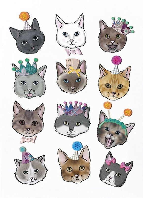 Image of Party Cats Card