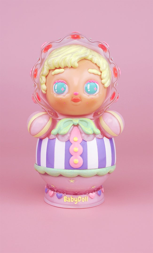 Image of 'BabyDoll' Clear Pink