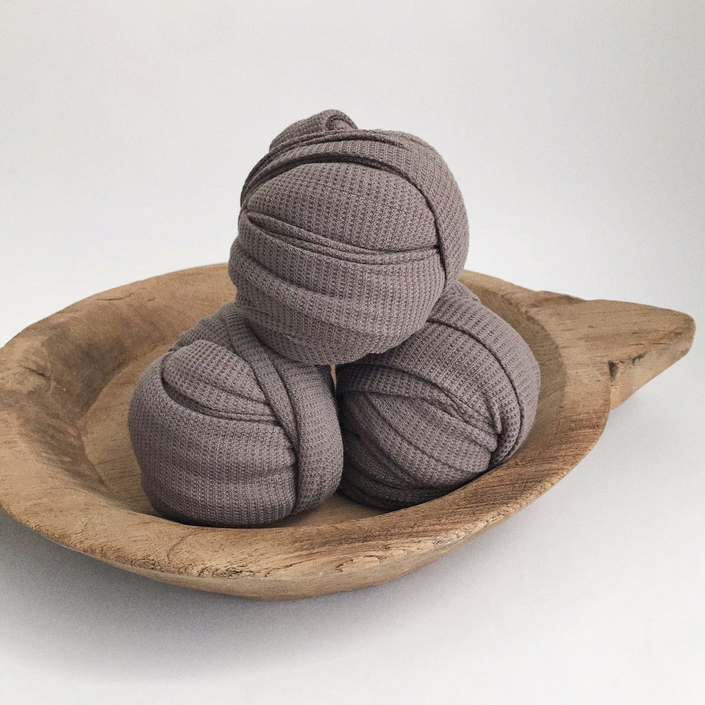 Image of Stone Thermal Knit Wrap