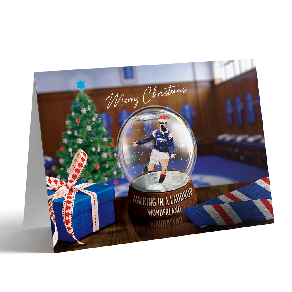 Image of Brian Laudrup Christmas Card *NEW*