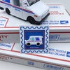 Mail Truck Enamel Pin