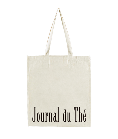 "Image of <span style=""color: #f4cccc;""> BACK IN STOCK </span> Journal du Thé Cotton Bag"