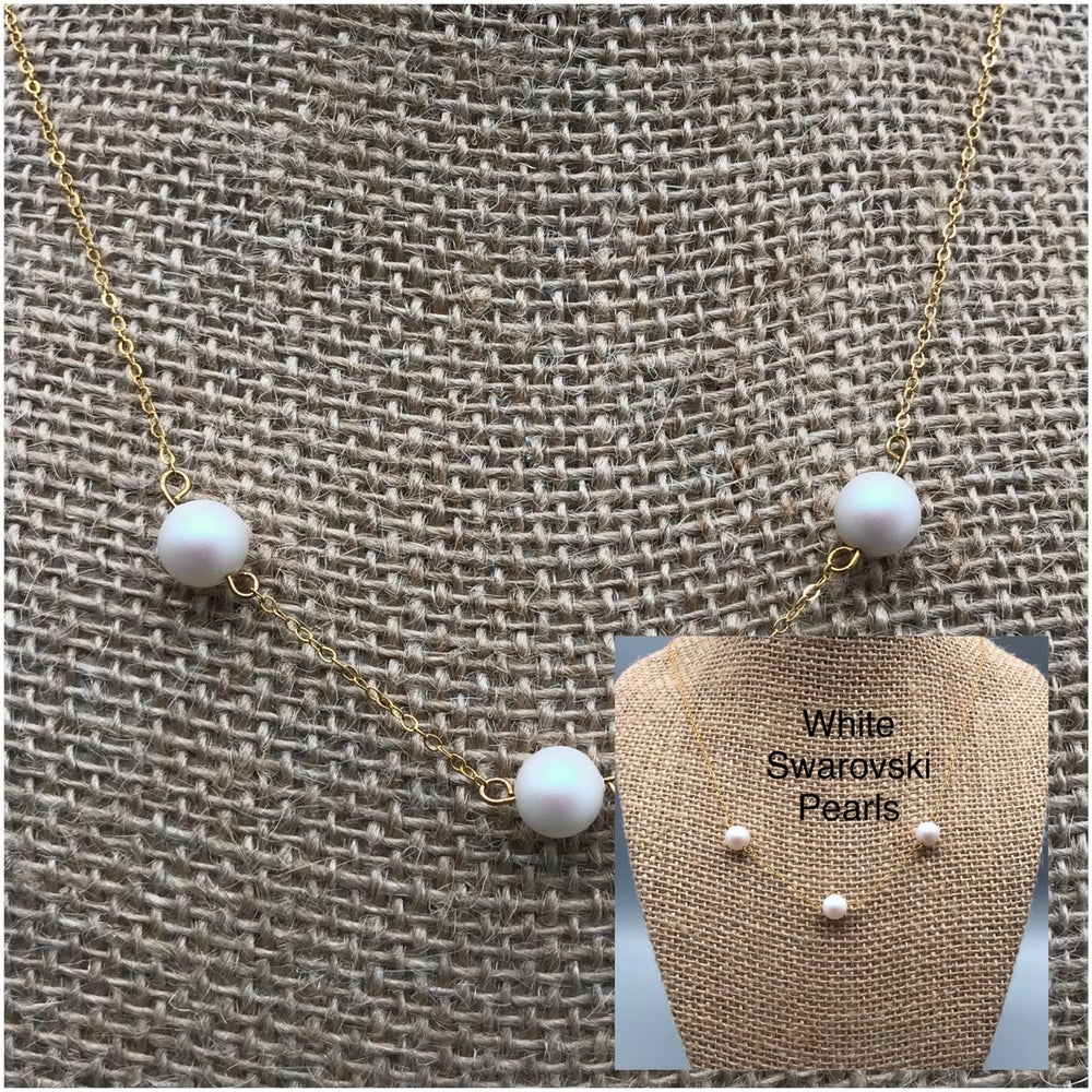 Image of Three Pearl Necklace