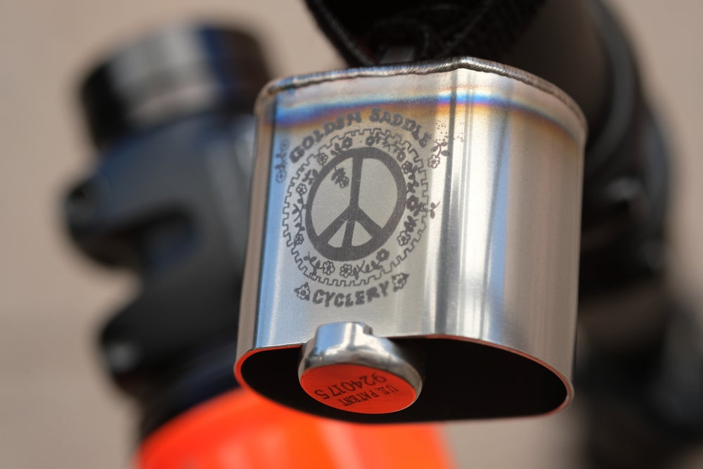 Image of GSC & Kris Chau Peace on Dirt Awareness Bell!