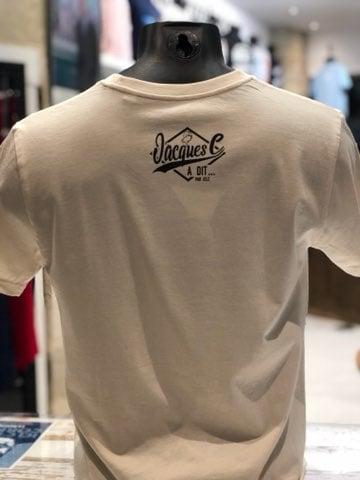Image of T-shirt Plutôt la Corrèze que le Zambeze crème