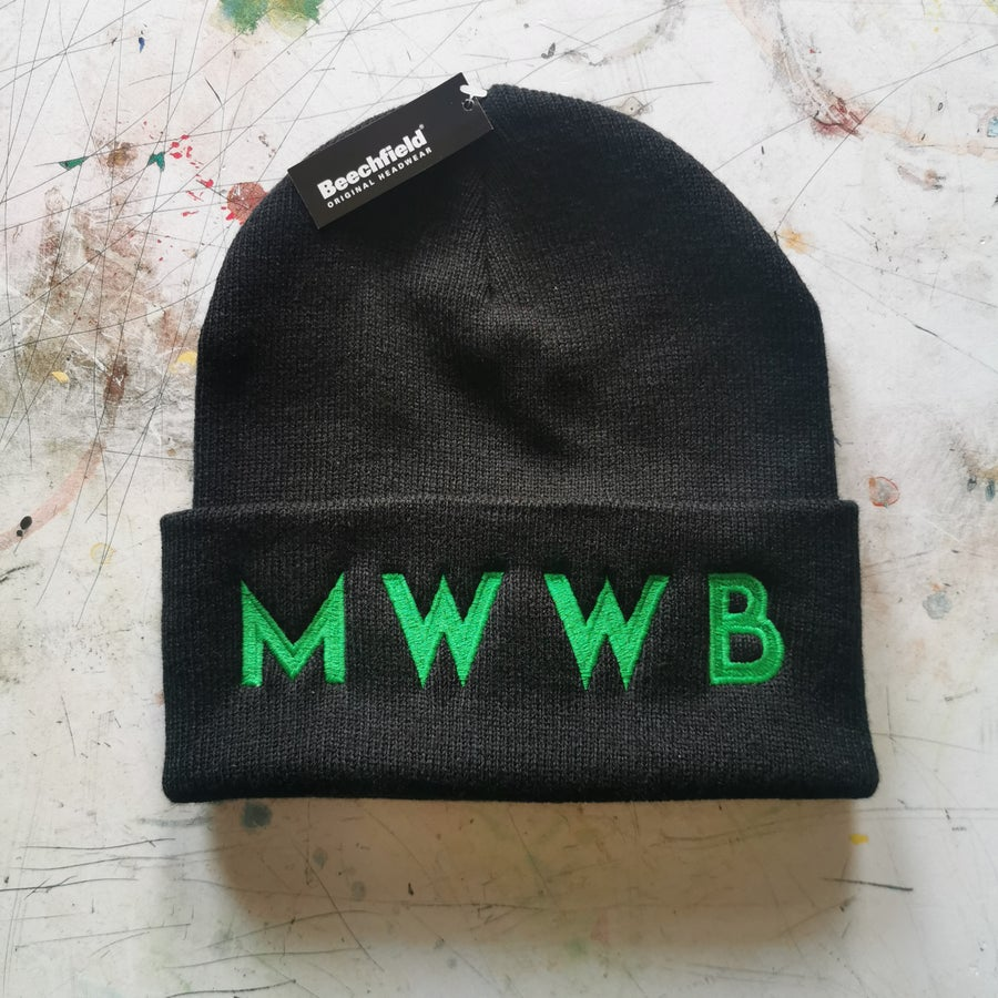 Image of MWWB Embroidered Beanie hat